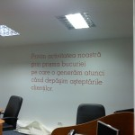 Colantare birouri eMag 10